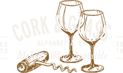 Cork and Glass Logo